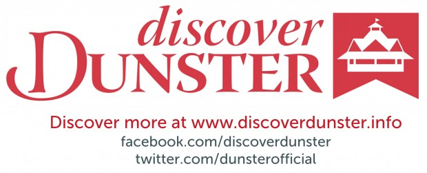 Discover Dunster logo and details for websites